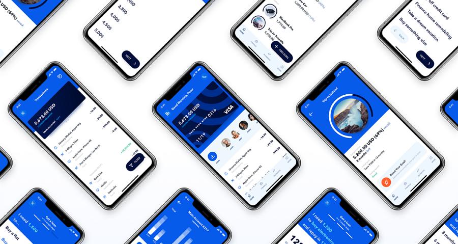B1- mobile bank app