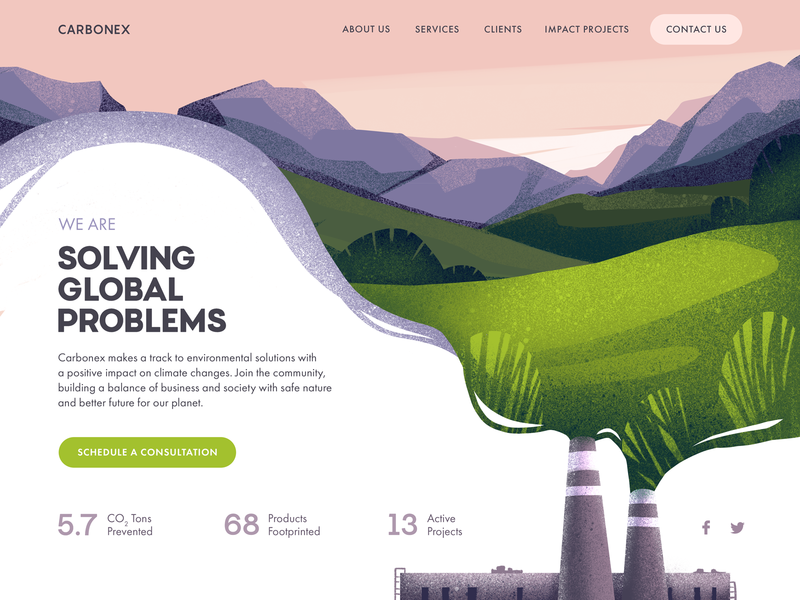 Web design inspiration - Environmental protection community.png