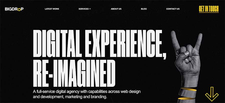 35 Of The Best Website Homepage Design Examples