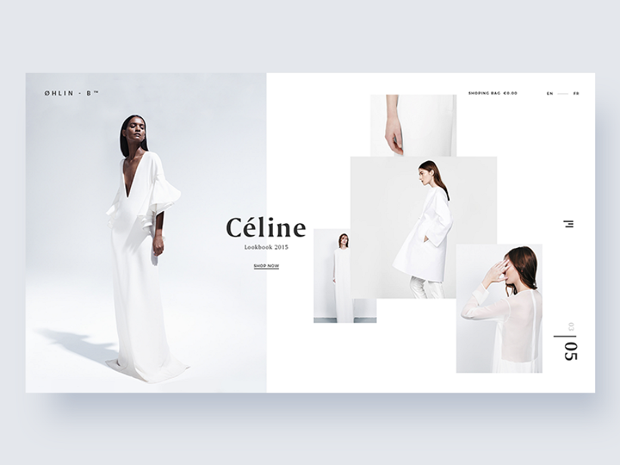 Flat web design - Ohlin-b
