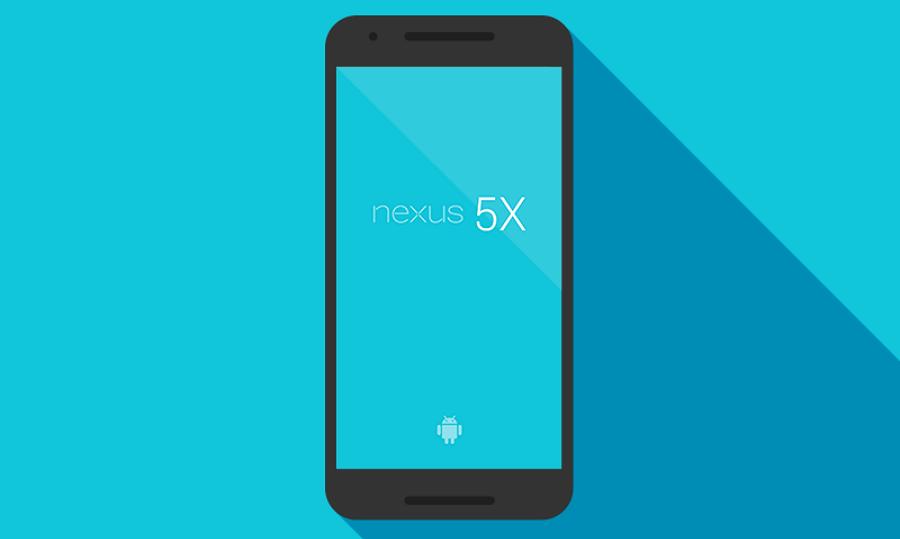 Nexus 5x Free PSD