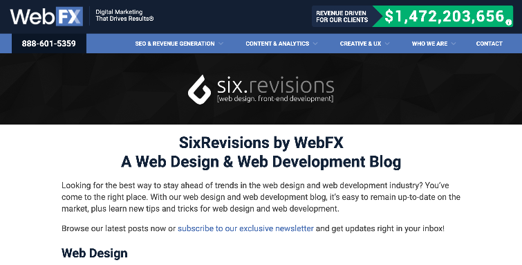 Six Revisions
