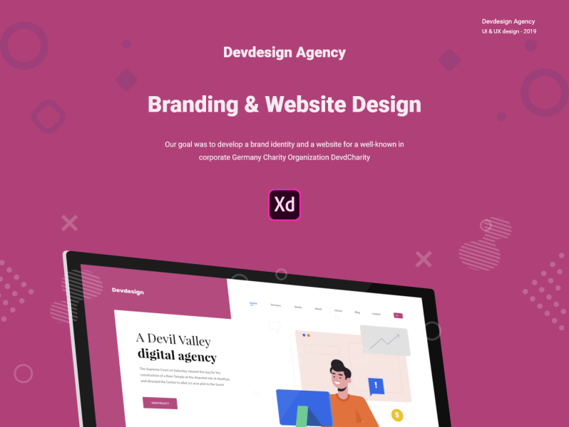 Design Systems Semantic UI Kit for Adobe XD