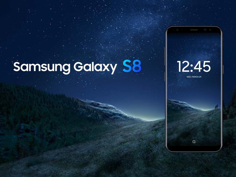 Samsung Galaxy S8 Mockup Sketch Resource