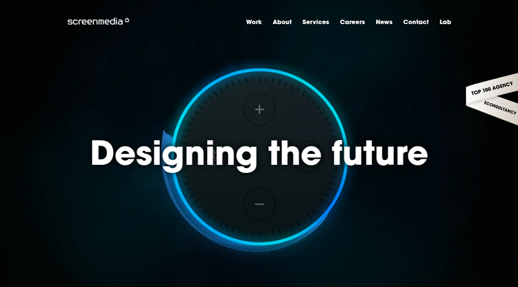 Dark Theme Website