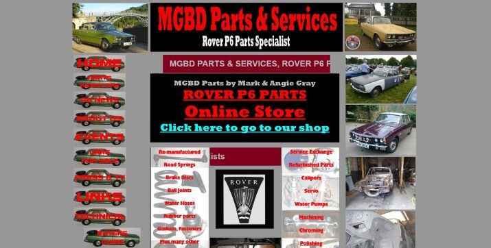 MGBD Parts & Services